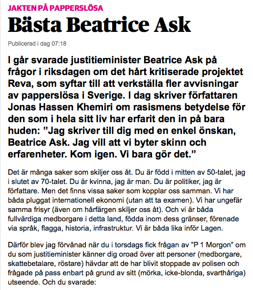 Bästa Beatrice Ask